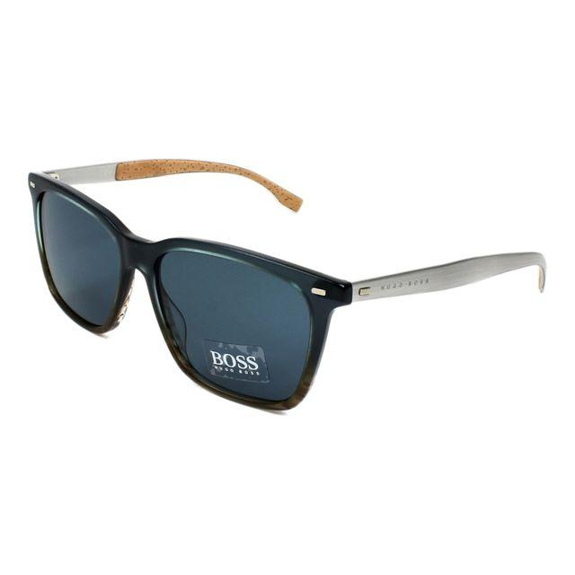 1e275b5b29 Hugo Boss - Lunettes de soleil Boss-0883-S 0R7/9A Homme Bleu - pas ...