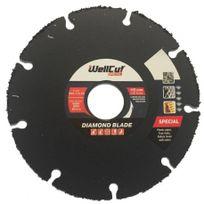 WellCut - Disque Special Diamant PALETTE Bois Taille - Ø 115 x 22.23mm