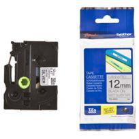 Brother - Cassette à ruban Tze-631 - largeur 12mm - longueur 4 m - noir / jaune