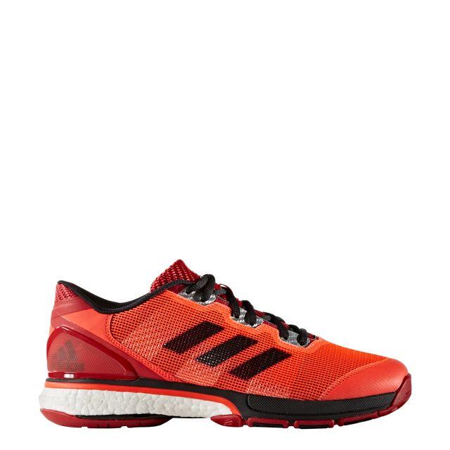 chaussure de handball adidas rouge