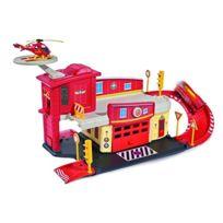 Dickie Toys - Le Centre De Secours Sam Le Pompier Voiture, Multicolore