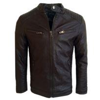 Freeside - Blouson cuir pour homme Blouson 260 marron