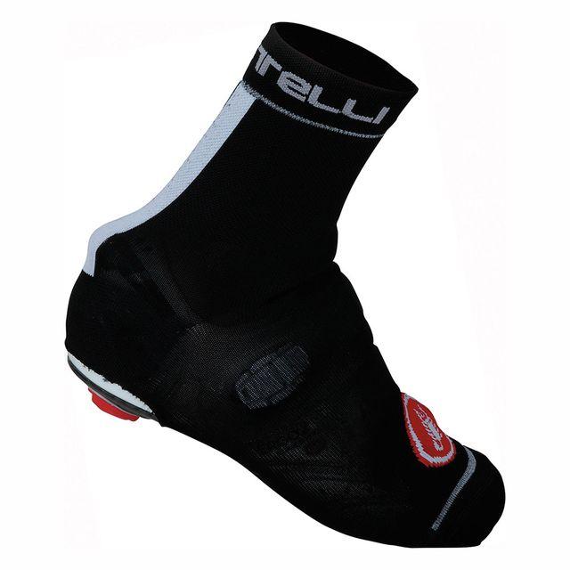 Castelli Couvre-chaussure Belgian Bootie 4 noir blanc