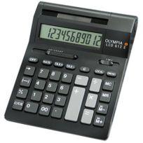 Olympia - Calculatrice de bureau Lcd-612E