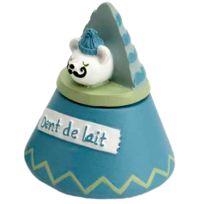 Amadeus - Petite boite à dents de lait - Vert foncé