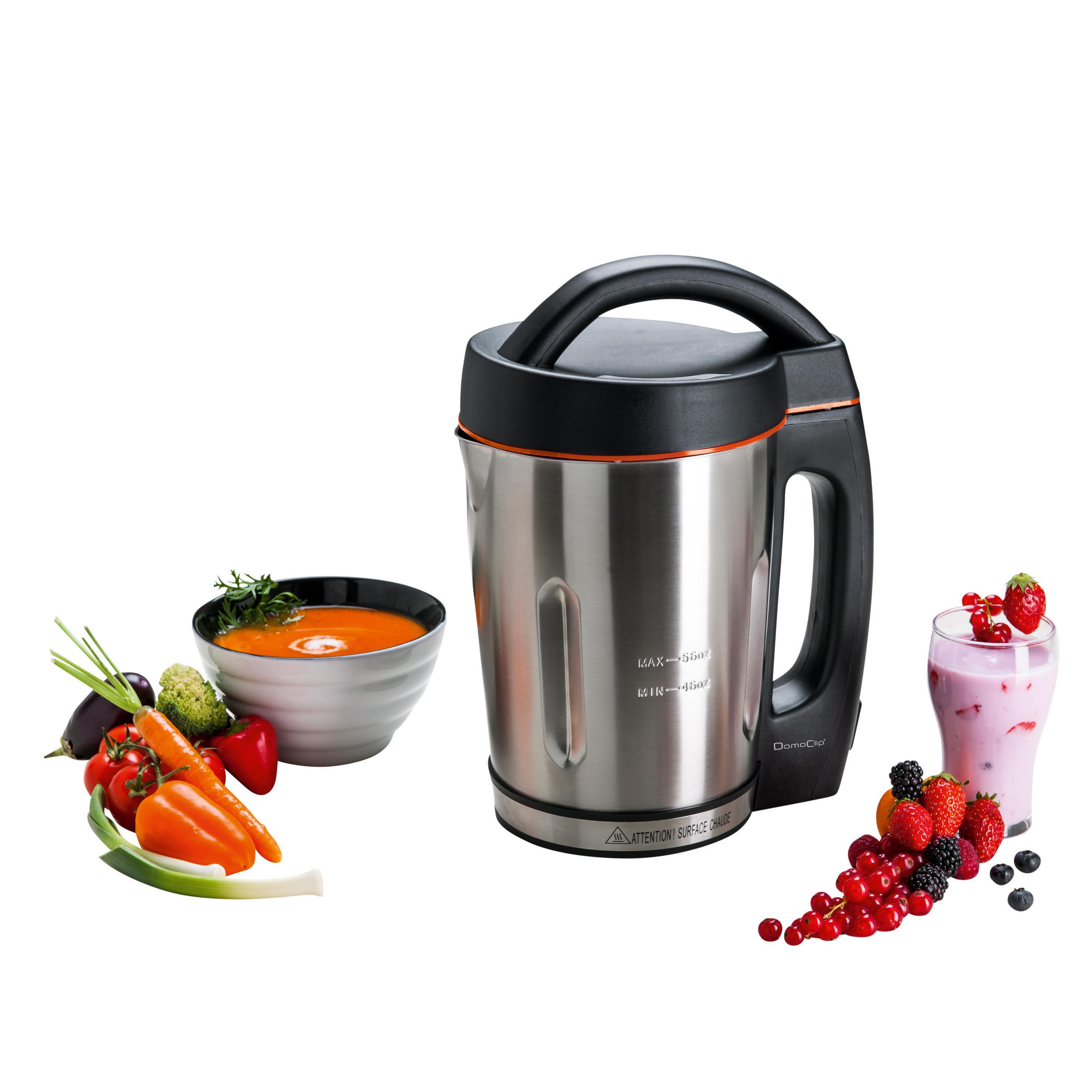 domoclip rapid 39 soup appareil soupe dop121 pas cher achat vente blender rueducommerce. Black Bedroom Furniture Sets. Home Design Ideas