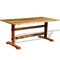 rocambolesk superbe table manger antique vintage neuf