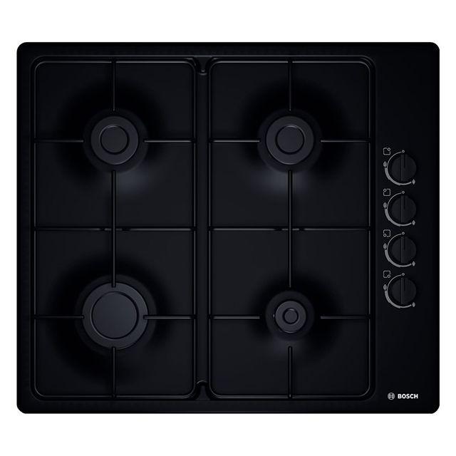 bosch table acier maill gaz 60cm noir pbp6b6b80 achat plaque de cuisson gaz. Black Bedroom Furniture Sets. Home Design Ideas
