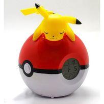 Teknofun - Pokemon Horloge Réveil Numérique Lampe Led Pikachu