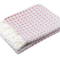 100POURCENTCOTON - Jeté de canapé 130x170 cm Chick 100% coton