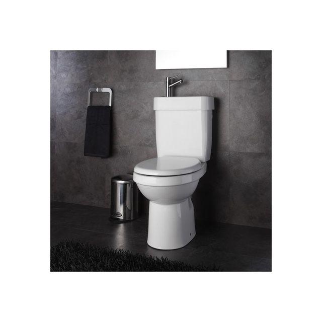 planetebain ensemble wc poser c ramique 2 en 1 lave. Black Bedroom Furniture Sets. Home Design Ideas