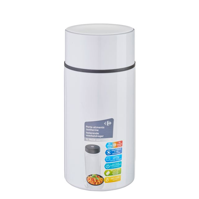 CARREFOUR HOME Porte-aliments isotherme 1L