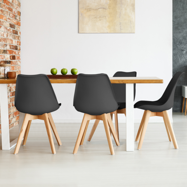 Table /à Manger scandinave SARA Blanche IDMarket