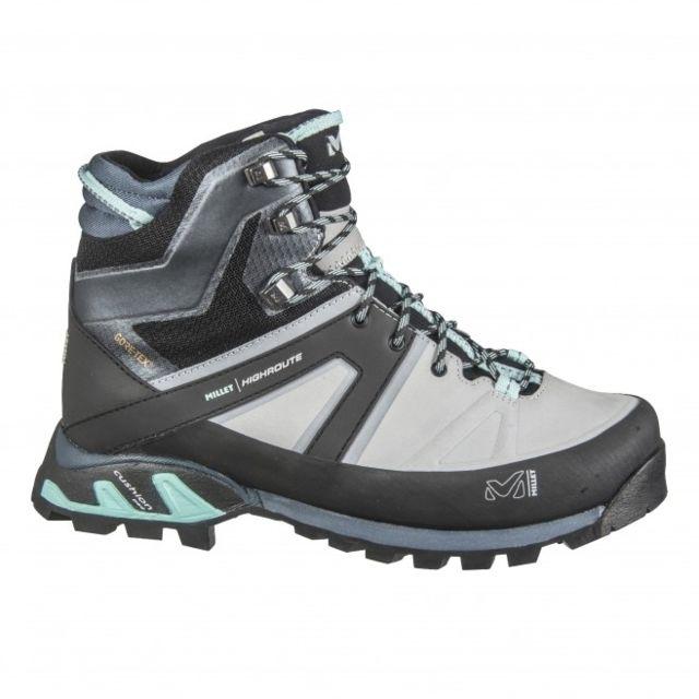 Chaussures Tige Haute Ld High Route Gtx High Risearuba Blue Femme