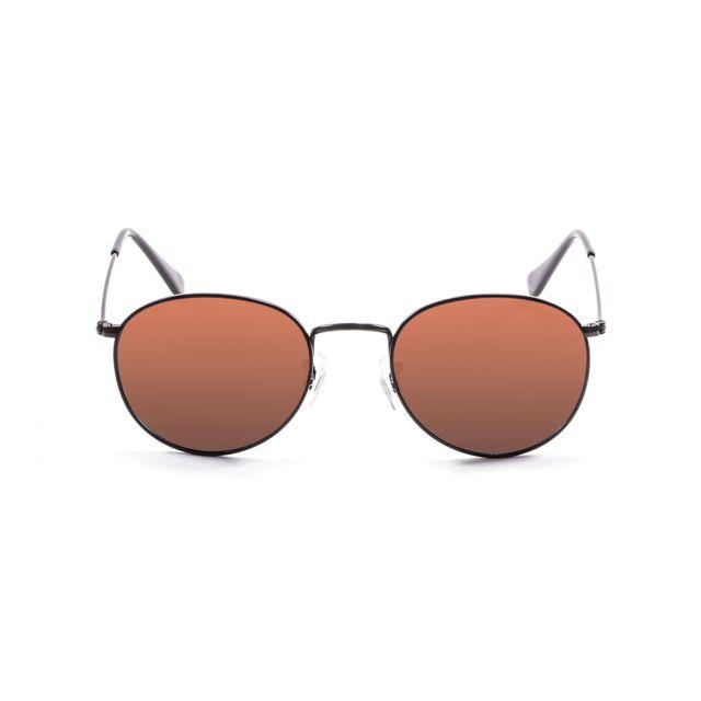 691bcd22b1b87 Buzzao - Lunettes de soleil polarisées marrons Ocean Sunglasses - Tokyo Noir  - pas cher Achat   Vente Lunettes Tendance - RueDuCommerce