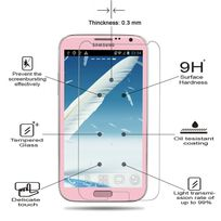 Cabling - Samsung Galaxy Note 2 Film Protection Verre Trempé Galaxy Note 2 - 0.3mm, Ultra-Fin Dureté 9H, Ultra RÉSISTANT Indice 99.9%, Haute transparence ultra résistant Ecran Protecteur Glass Screen Protector pour Samsung Galaxy Note Ii