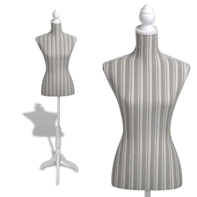 No Name - Valets de nuit Moderne Buste de couture de femme en lin à ...