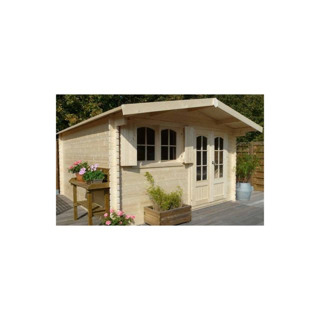 solid abri de jardin maisonnette chalet de jardin. Black Bedroom Furniture Sets. Home Design Ideas