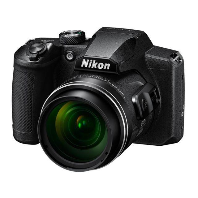 NIKON Bridge Coolpix B600 - Noir Zoom optique 60× NIKKOR f/3.3 à 6.5- 16Mpx - full HD - focale 24 à 1440 mm, Dynamic Fine Zoom 2880 mm