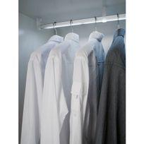 L et S - Tringle à vêtements éclairée - Free - Led blanc naturel - 540 mm