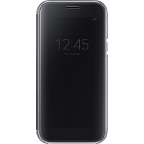 Samsung - Clear View Cover Galaxy A5 2017 - Noir