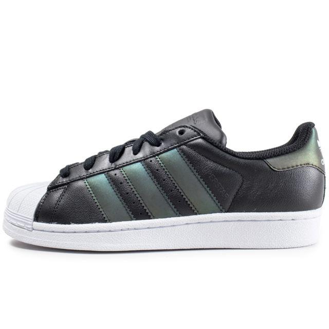 adidas Campus enfant noire et iridescent Chaussures adidas