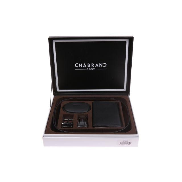 Chabrand - Coffret cadeau Chabrand   Ceinture à boucles interchangeables,  portefeuille et porte-monnaie 616ccfc29b2