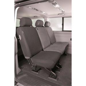 g n rique set de housses de si ge auto sur mesure pour volkswagen transporter t6 depuis 07. Black Bedroom Furniture Sets. Home Design Ideas