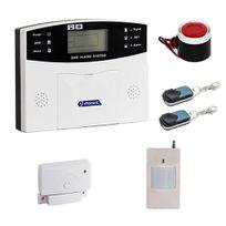 EMATRONIC - Alarme maison sans-fil et filaire transmetteur GSM AL01