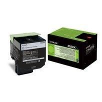 Lexmark - Toner - 802XK - 8.000 pages - Pack de 1 - Noir