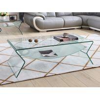 table basse verre double plateau - Achat table basse verre double ... 82bc9943a151