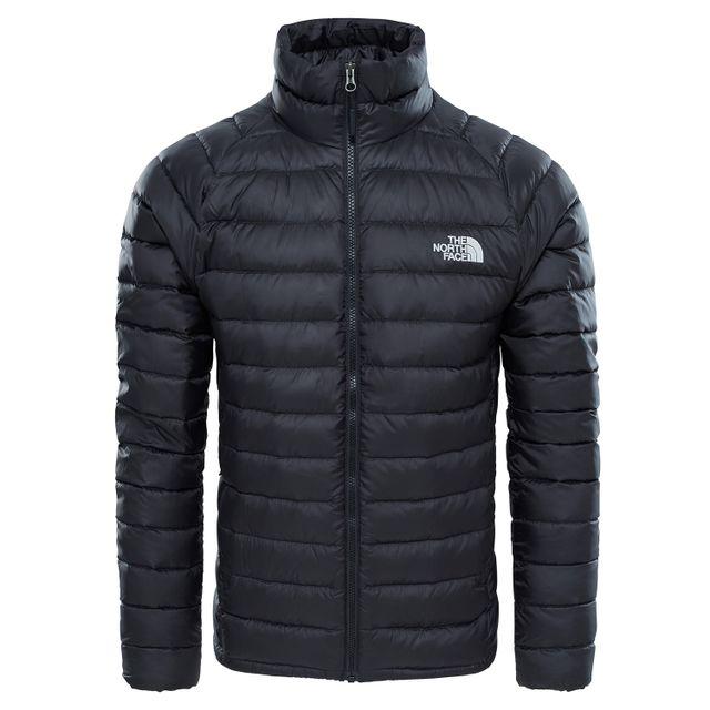 the north face doudoune veste trevail noir pas cher achat vente manteau homme rueducommerce. Black Bedroom Furniture Sets. Home Design Ideas