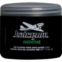 Hairgum - Gel Fixant A La Menthe 500g - Fixation Forte et Effet Mouillé