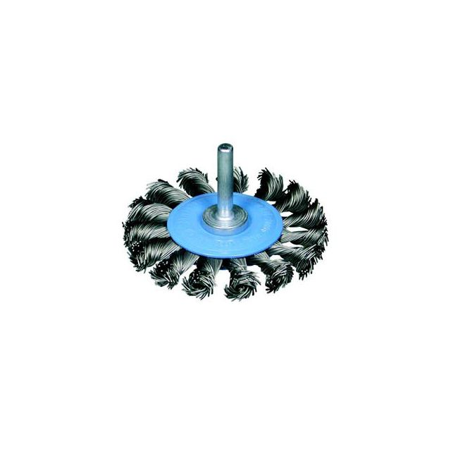 Topcar - Brosse circulaire, fil acier torsadé , agressive Osborn 611 151-7202