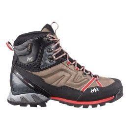9a3b8a52911 Millet - Chaussures de randonnée High Route Gtx marron rouge - pas ...