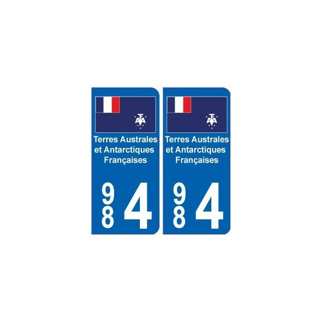 Bearn 64 984 taaf autocollant sticker d partement plaque - Immatriculation chambre de commerce ...