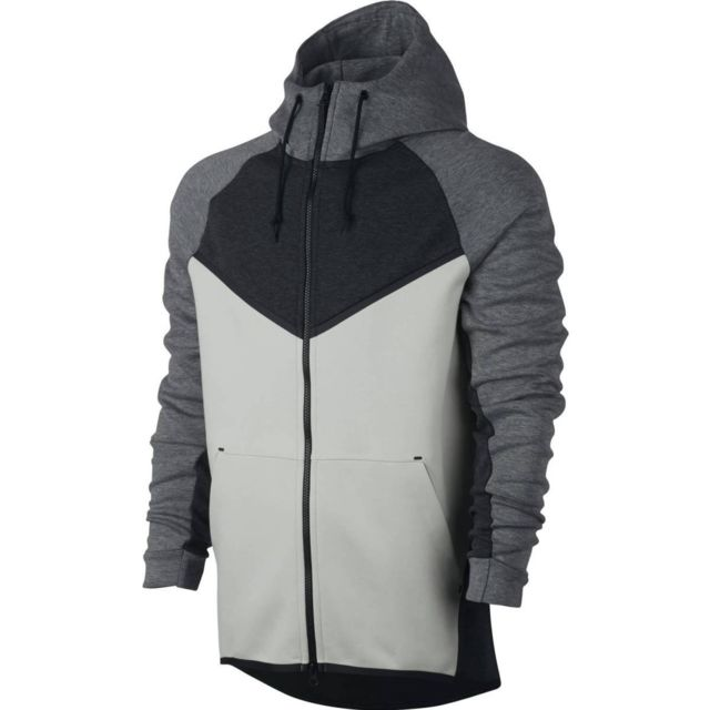 nike fleece homme gris