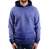 Baron - Sweat Washed Hood - Bleu