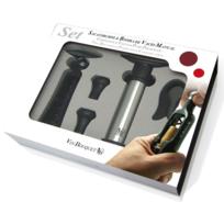 VinBouquet - Coffret tire-bouchon + pompe à vide