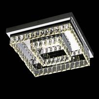 plafonnier cristal moderne carre led million 42 cm 5 Bon Marché Plafonnier soldes Xzw1
