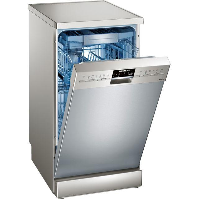 SIEMENS lave-vaisselle 45cm 10c 44db a++ inox - sr256i00te