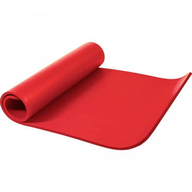 gorilla sports tapis en mousse grand 190x100x1 5cm yoga pilates sport domicile rouge. Black Bedroom Furniture Sets. Home Design Ideas