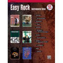 Alfred Publishing - Partitions Variété, Pop, Rock. Easy Rock Instrumentals + Cd - Trombone Solo Vents