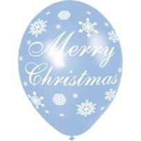 Amscan International ltd - 6 X Ballons En Latex - Merry Christmas