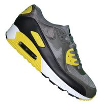 nike - basket - homme - air max 90 essential 74 - noir rouge