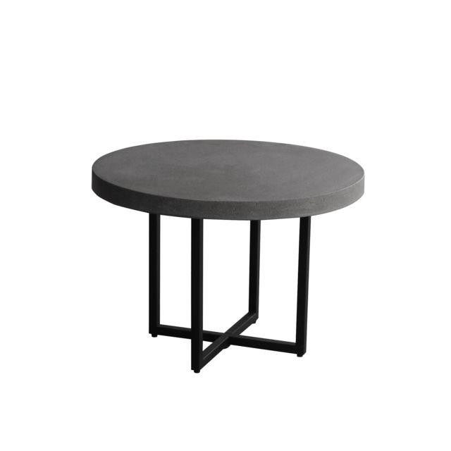 Rendez Vous Deco Table Basse Ronde Aitu 50 Cm Pas Cher Achat