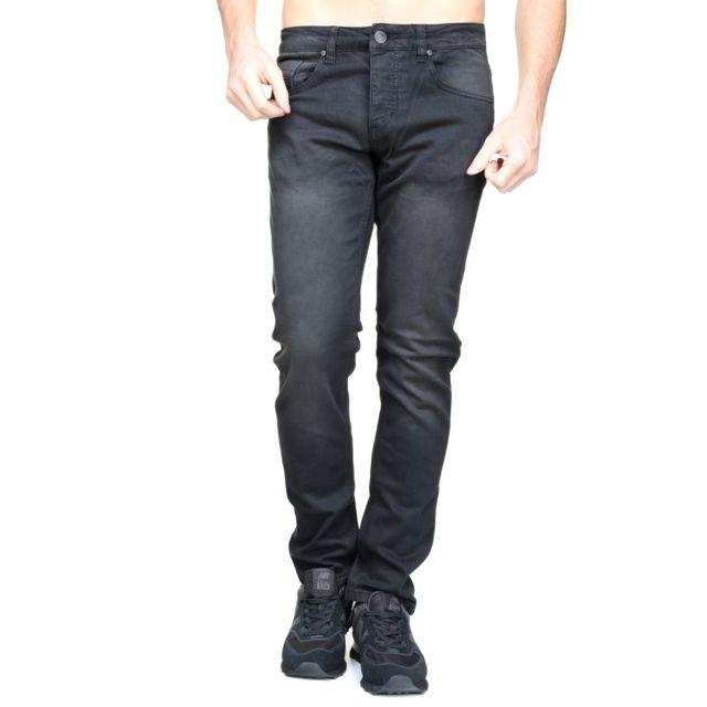 4e2bb2a6e78ee Original Ado - A-1868 Noir - pas cher Achat   Vente Jeans homme -  RueDuCommerce