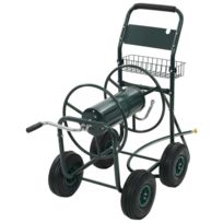 Dévidoir Organisation Pour Et Chariot D'arrosage Acier Porte 12 Rangement D'outils Tuyau Vert PlZkwOuTXi