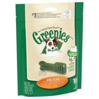 Greenies - Bâtonnets à Mâcher pour l'Hygiène Dentaire pour Petit Chien - x10