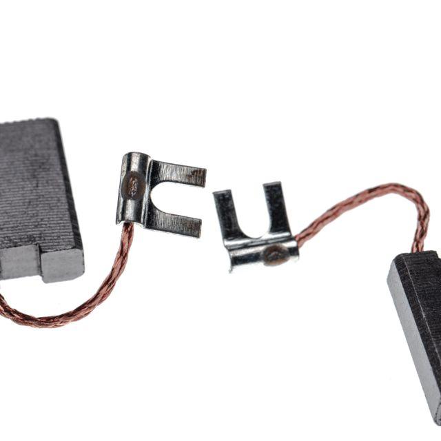 gbh38 2x Balais Charbon 6,3 x 12,5 x 22 mm pour Bosch gbh5dce gbh5//40 DCE